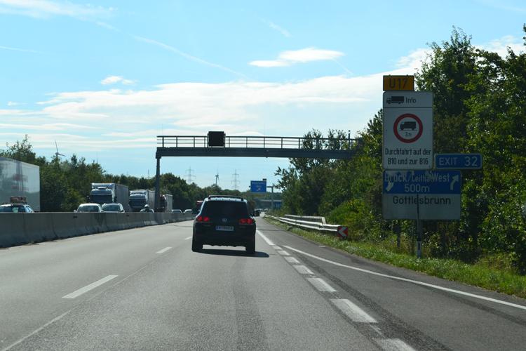 Verkehrskameras A6